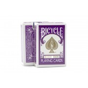 Bicycle Rider Back Purple