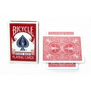 Bicycle Magnetic Rider Back Cards 2-Pack (Rood)