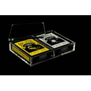 Crystal Card Case x2 - Displays 2 decks