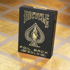 Bicycle Foil Back Gold