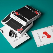 Cherry Casino True Black Playing Cards