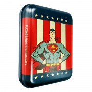 DC Super Heroes - Superman Deck & Collector Tin Box