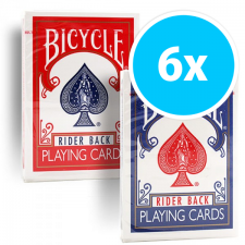 Bicycle Rider Back 807 6-pack