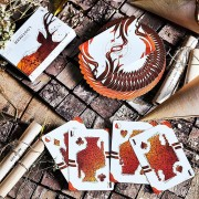 Lost Deer Jungle Playing Cards