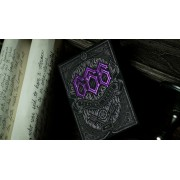 666 Playing Cards Purple