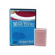 Gemakkelijk te leren Stripper Deck + DVD