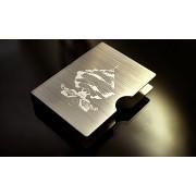 Arcane Stainless Card Clip