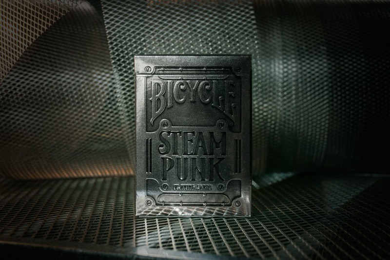 Bicycle Steampunk Silver Image 11